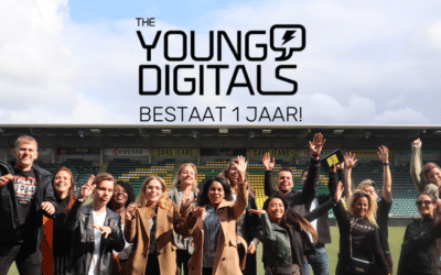 The Young Digitals bestaat 1 jaar! Tijd voor een throwback!