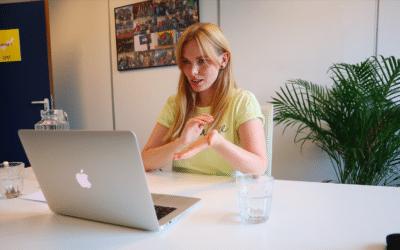 #Teamworkmakesthedreamwork: The Young Digitals geven webinar voor Haags Retailpunt