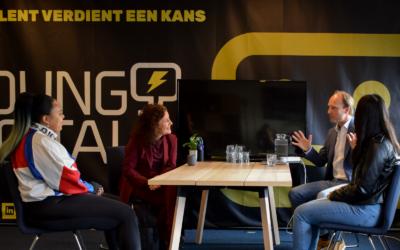 Minister van Engelshoven bezoekt sociale onderneming The Young Digitals